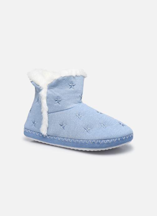 Pantoffels Dames Chaussons montants cœur etoile femme