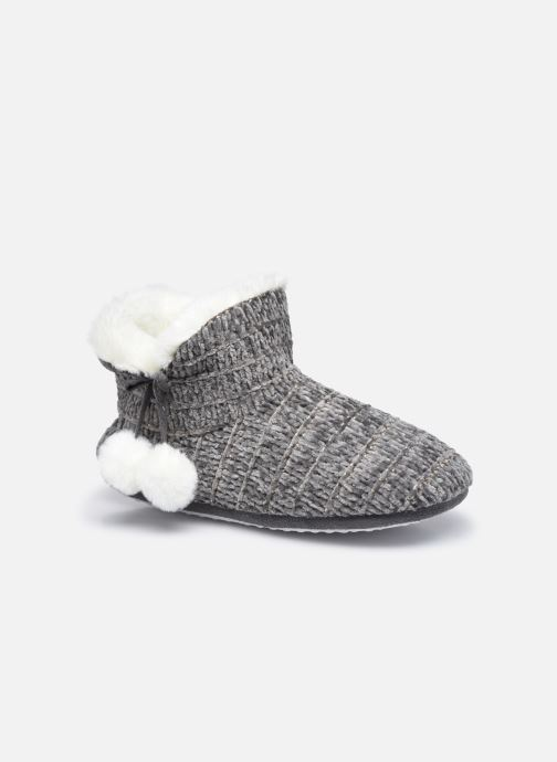 Chaussons montants tricot femme