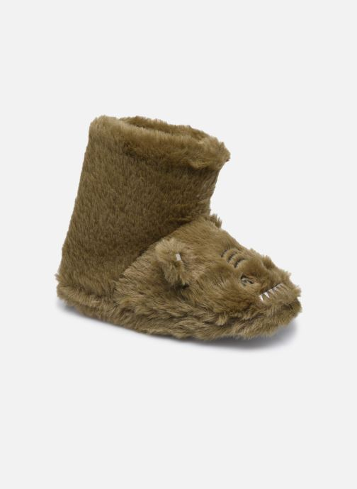 Pantofole Bambino Chaussons montants animaux enfant garcon