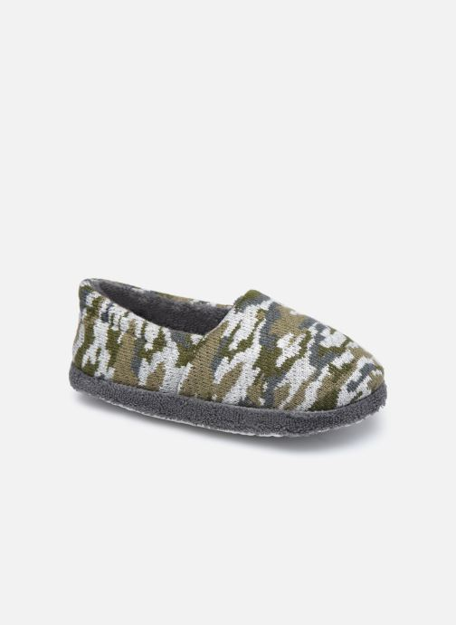 Pantoffels Sarenza Wear Chaussons militaire enfant garcon Groen detail