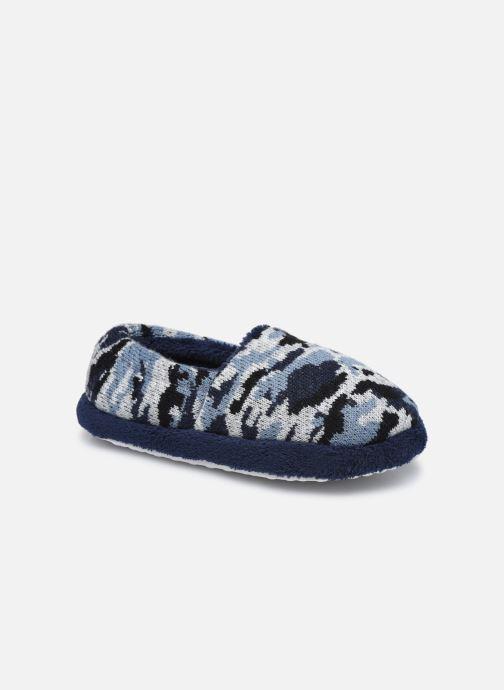 Pantuflas Sarenza Wear Chaussons militaire enfant garcon Azul vista de detalle / par