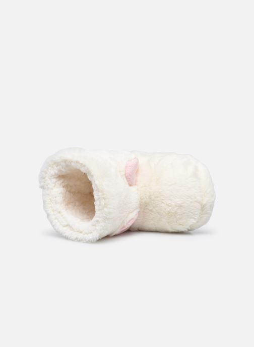Pantoffels Sarenza Wear Chaussons montants tout doux enfant Wit links