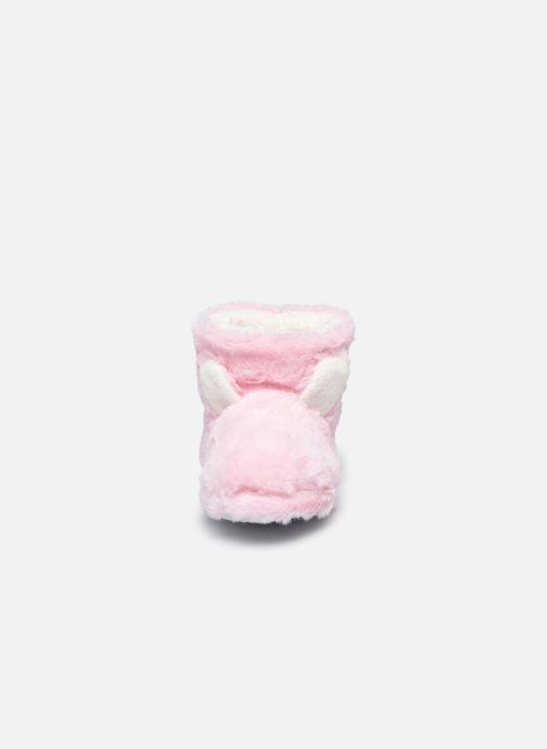 Pantuflas Sarenza Wear Chaussons montants tout doux enfant Rosa vista del modelo