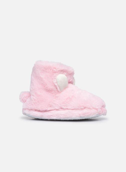 Pantuflas Sarenza Wear Chaussons montants tout doux enfant Rosa vistra trasera