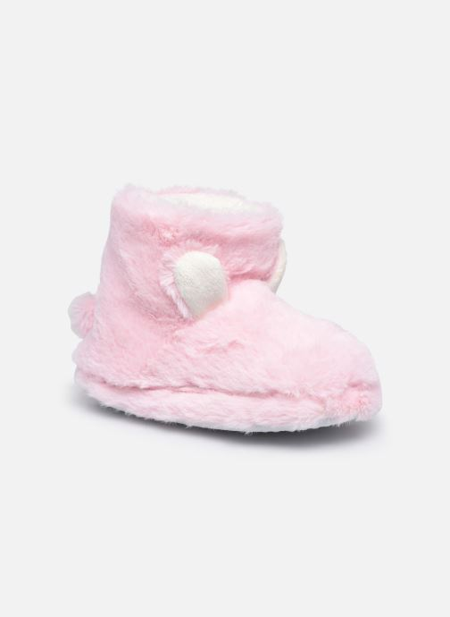 Pantuflas Sarenza Wear Chaussons montants tout doux enfant Rosa vista de detalle / par