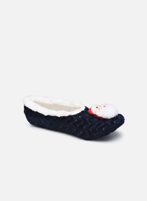 Pantoffels Sarenza Wear Chaussons ballerines de noel enfant Blauw detail
