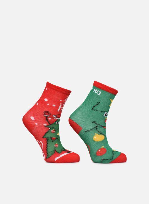 Sokken en panty's Sarenza Wear Chaussettes de noel enfant Groen detail