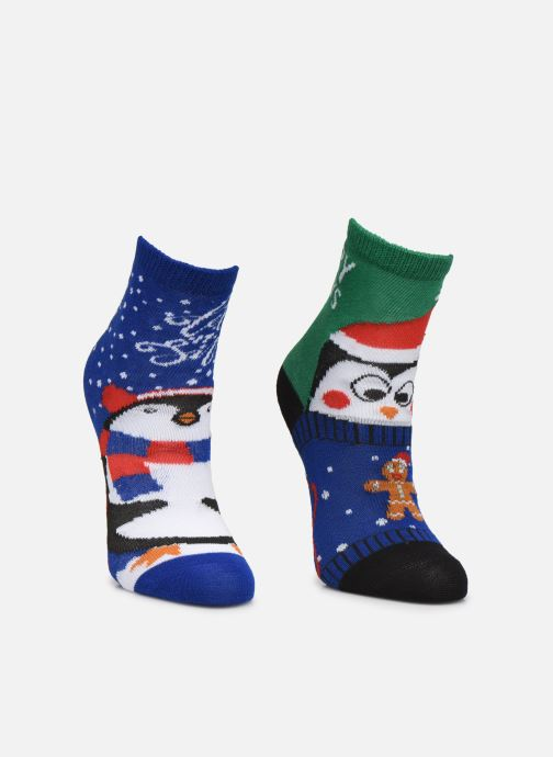 Socken & Strumpfhosen Sarenza Wear Chaussettes de noel enfant schwarz schuhe getragen
