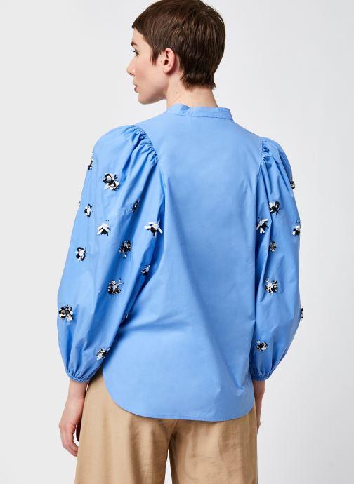 Kleding Essentiel Antwerp Zeatle Blauw model