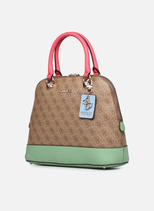 Handtaschen Guess CATHLEEN braun schuhe getragen
