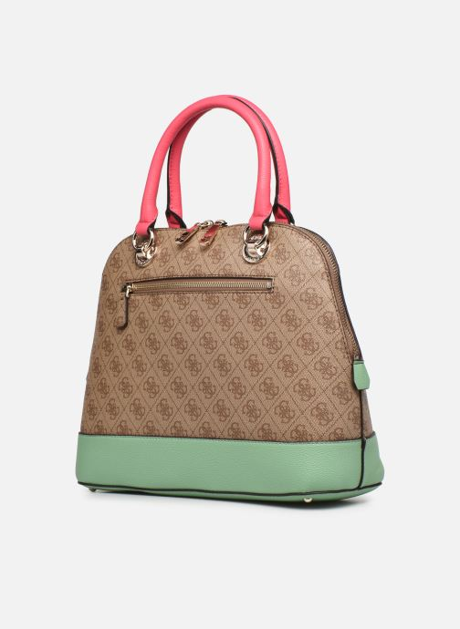 Bolsos de mano Guess CATHLEEN Marrón vista lateral derecha