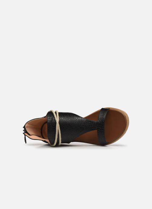 Sandales et nu-pieds Chattawak JOY Noir vue gauche