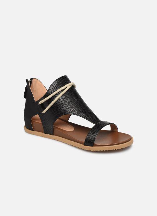 Sandales et nu-pieds Chattawak JOY Noir vue détail/paire