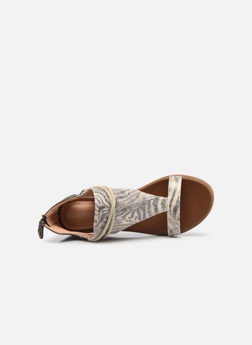 Sandales et nu-pieds Chattawak JOY Blanc vue gauche