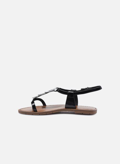 Sandales et nu-pieds Chattawak PIPA Noir vue face