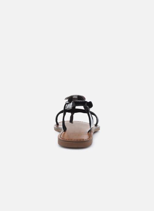 Sandales et nu-pieds Chattawak PIPA Noir vue droite
