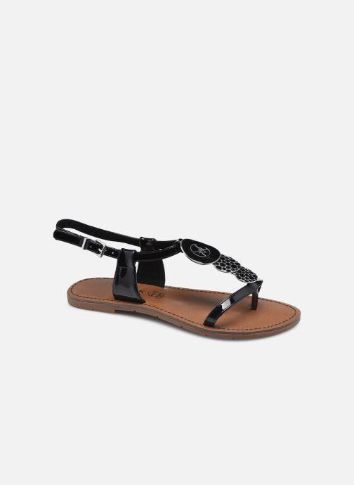 Sandales et nu-pieds Chattawak PIPA Noir vue détail/paire