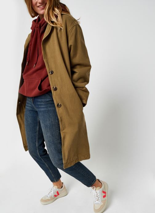 Vêtements Levi's Luna Coat W/ Fill Marron vue bas / vue portée sac