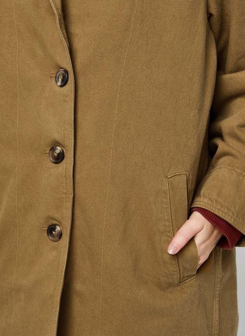 Vêtements Levi's Luna Coat W/ Fill Marron vue face