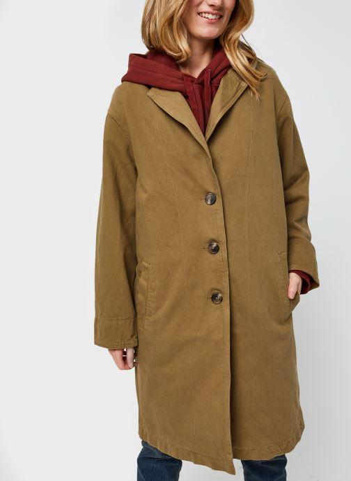 Vêtements Levi's Luna Coat W/ Fill Marron vue droite