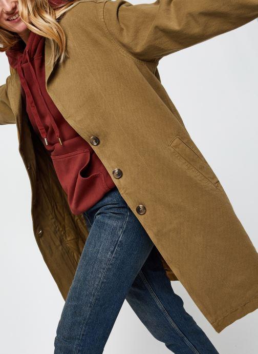 Vêtements Levi's Luna Coat W/ Fill Marron vue détail/paire