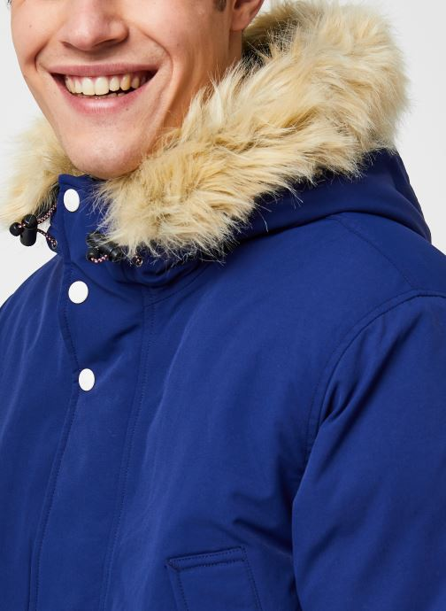 Vêtements Levi's Balboa Parka Blueprint Bleu vue face
