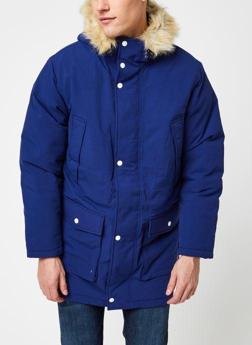 Vêtements Levi's Balboa Parka Blueprint Bleu vue droite