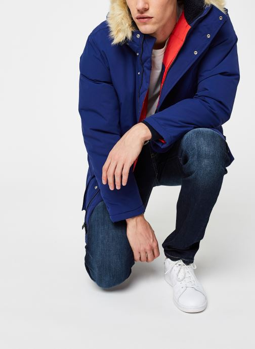 Vêtements Levi's Balboa Parka Blueprint Bleu vue détail/paire