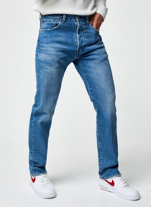 Vêtements Levi's 501® '93 Straight Bleu vue détail/paire
