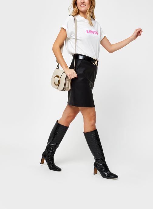 Vêtements Noisy May Kelly Skirt Noir vue bas / vue portée sac