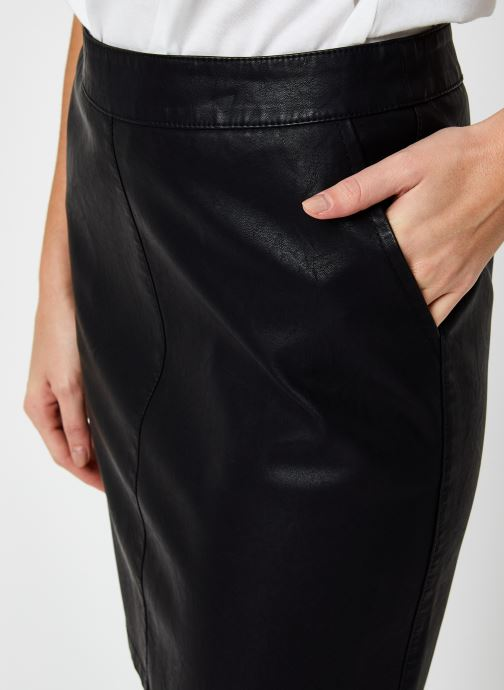 Vêtements Noisy May Kelly Skirt Noir vue face