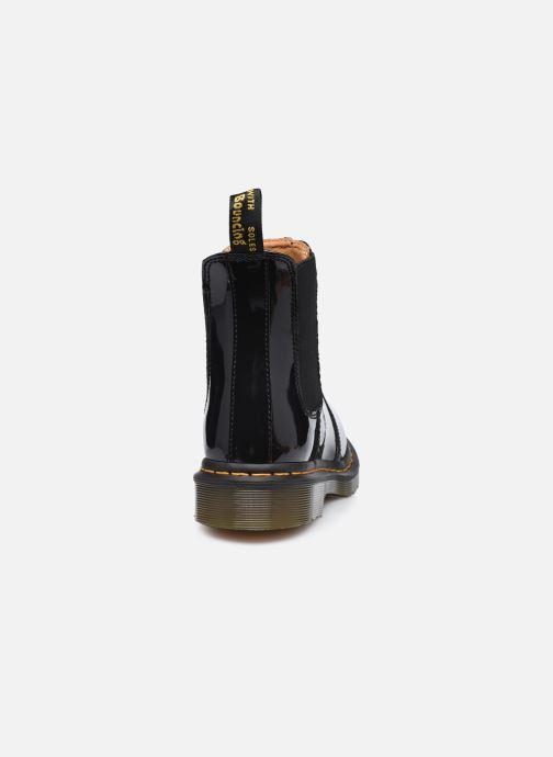 Botines  DR. Martens 2976 Black Patent Lamper Negro vista lateral derecha