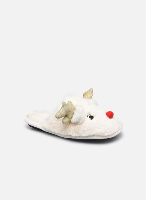 Pantoffels Dames Chaussons Mules Rennes de Noel Femme