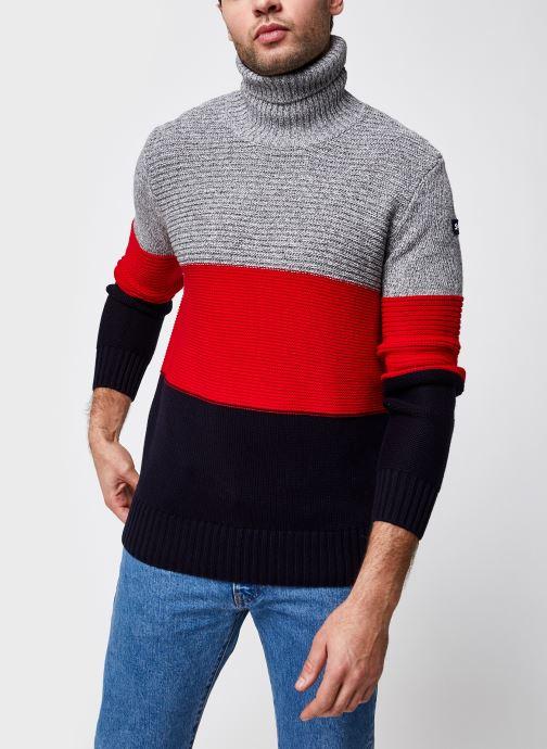 Turtle Neck Sweater Plmoss1