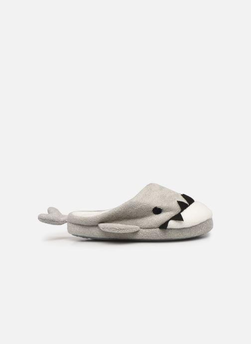 Pantoffels Sarenza Wear Chaussons requin enfant Grijs achterkant