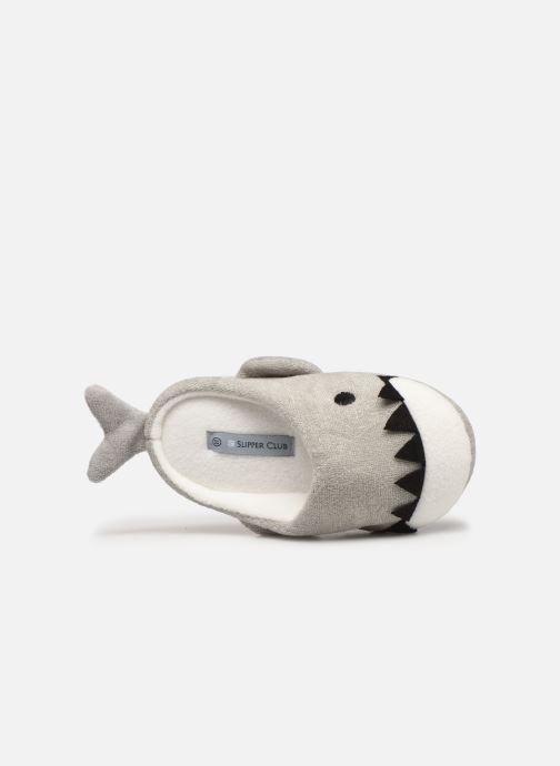 Pantoffels Sarenza Wear Chaussons requin enfant Grijs links
