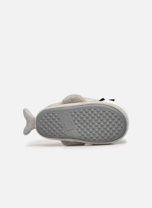 Pantoffels Sarenza Wear Chaussons requin enfant Grijs boven
