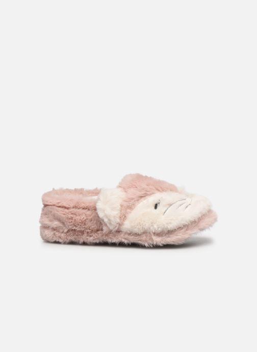 Chaussons Sarenza Wear Chaussons animal enfant Rose vue derrière