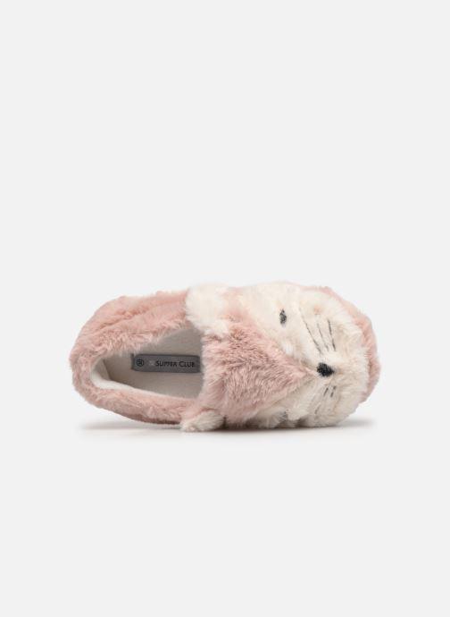 Chaussons Sarenza Wear Chaussons animal enfant Rose vue gauche
