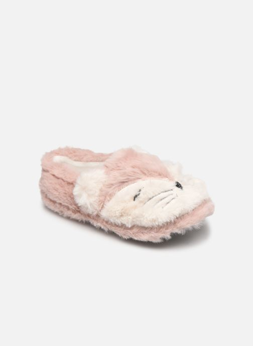 Pantoffels Sarenza Wear Chaussons animal enfant Roze detail