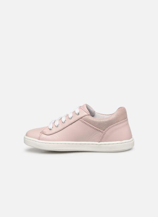 Sneaker Rose et Martin JUSTINE LEATHER rosa ansicht von vorne