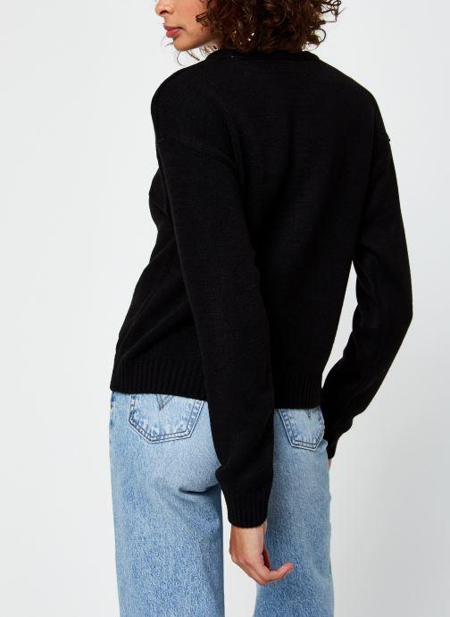 Vêtements Vila Viruna Pullover Noir vue portées chaussures