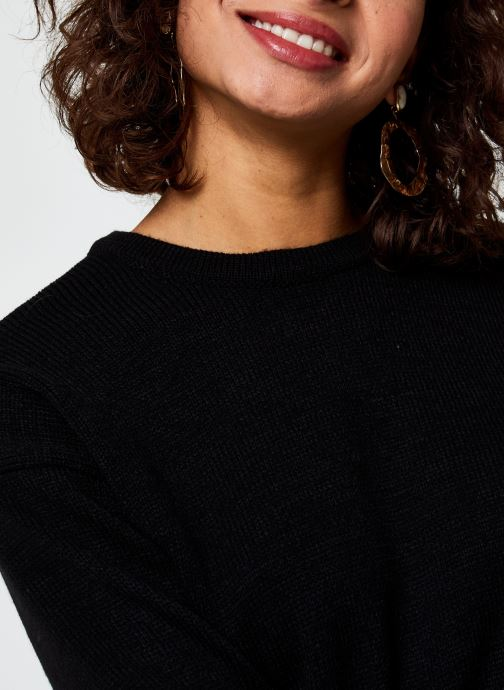 Vêtements Vila Viruna Pullover Noir vue face