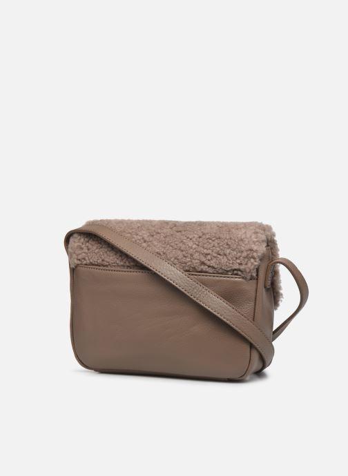 Borse UGG Bia Mini School Bag Leather Marrone immagine destra