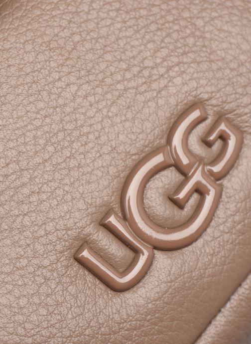 Borse UGG Bia Mini School Bag Leather Marrone immagine sinistra