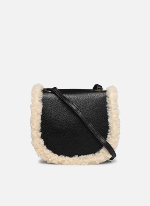 Handtaschen UGG Heritage Crossbody Leather schwarz ansicht von vorne