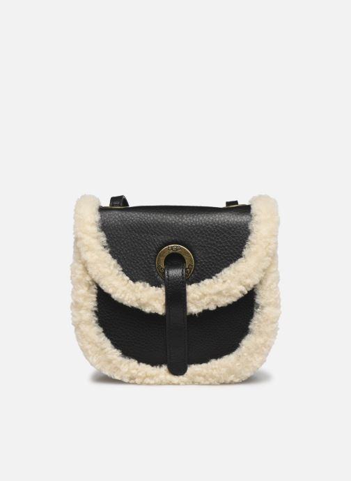 Handtaschen UGG Heritage Crossbody Leather schwarz detaillierte ansicht/modell