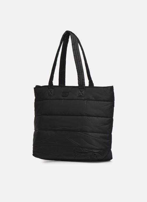 Borse UGG Krystal Puffer Tote Nero modello indossato