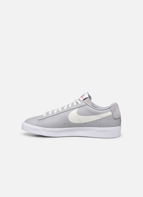 Baskets Nike NIKE BLAZER LOW Gris vue face