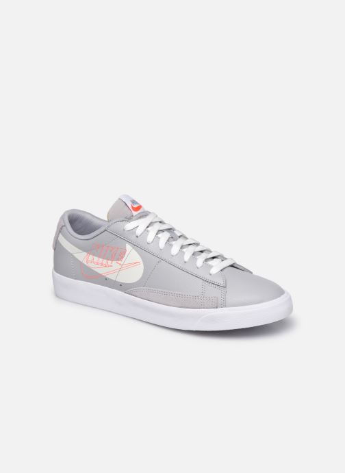 Baskets Nike NIKE BLAZER LOW Gris vue détail/paire